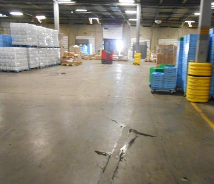 Warehouse Flood After