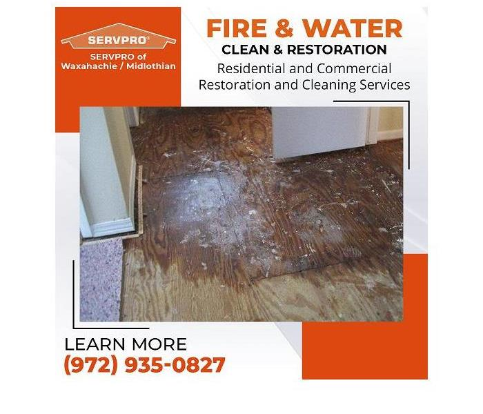 Here to Help - Image of dirty, wet floor